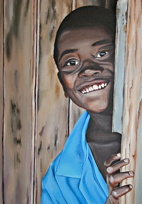 Afrikanischer Junge II