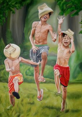 Indonesische Lebensfreude